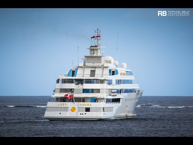 [Lady Moura], the Amazing US$ 250,000,000 Yacht owned by Nasser Al Rashid