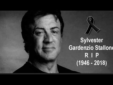Sylvester Gardenzio Stallone died early this morning after his battle with    R.I.P   
