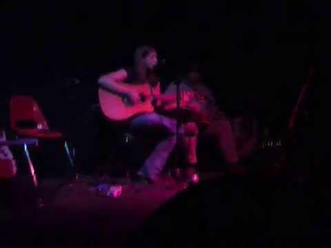 Betsy Franck with Mark Cunningham @ Caledonia Lounge www.AthensRockShow.com 7 2 09