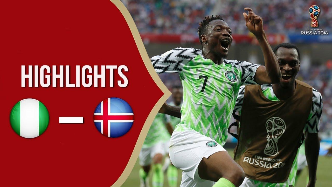 Cuplikan Video Hasil Pertandingan Piala Dunia 2018: Timnas Nigeria Vs Timnas Islandia