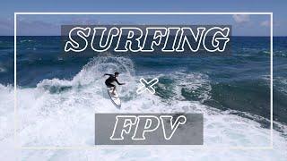 Surfing×FPV | Shot on FPV