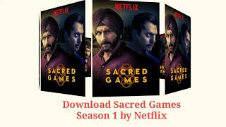 sacred games full series download