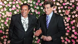 Dharmendra And Jeetendra Together After 40 Years At Kapil Sharma Wedding Reception Party