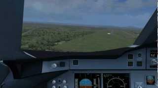 FSX Freeware - Airbus A320 & Launceston Airport - hmong video