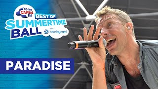 Coldplay - Paradise (Best of Capital's Summertime Ball) | Capital