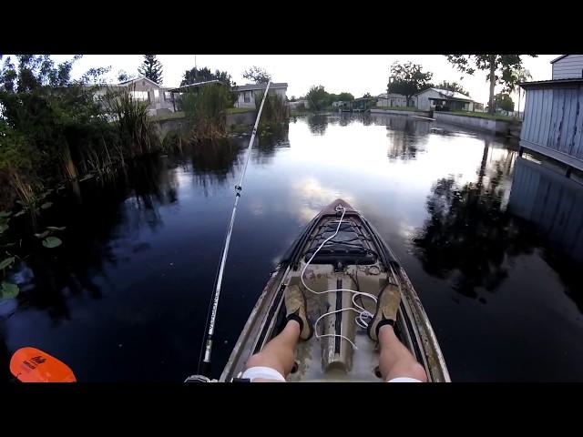 Kayak Fishing South Florida Canals (Lake Okeechobee)
