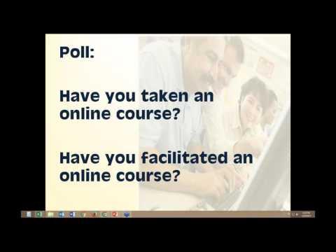 Online Tutor Training Course Webinar - YouTube