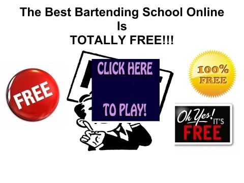 Online Bartending School For Free
