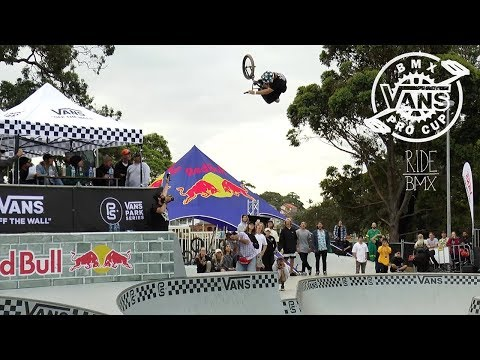 LARRY EDGAR WINS GOLD AT VANS BMX PRO CUP SYDNEY
