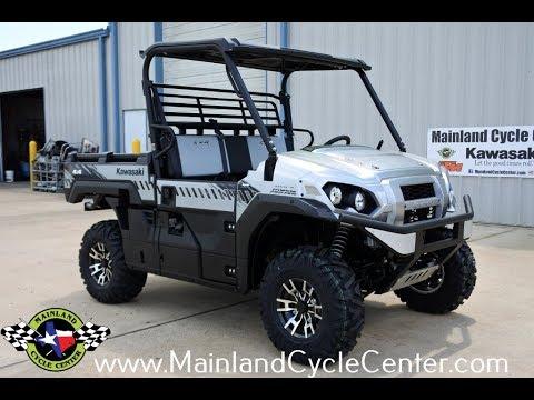 2018 Kawasaki Mule PRO-FXR in La Marque, Texas