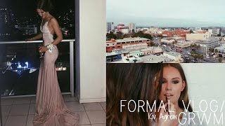 FORMAL/PROM GRWM VLOG   Kiv Agnew