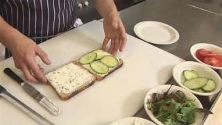 How To Prepare Finger Sandwiches