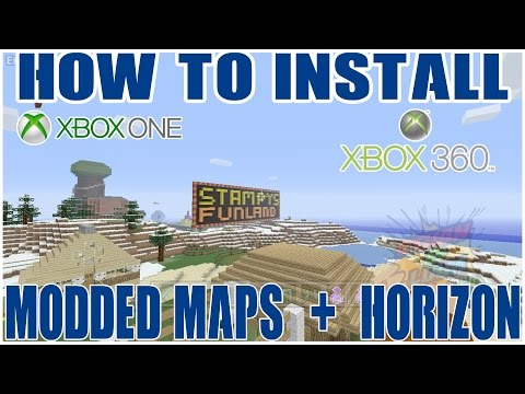 How to Download Custom Maps and Mod on Minecraft Xbox 360 + One