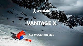 Видеообзор: Горные лыжи Atomic Vantage X All Mountain skis