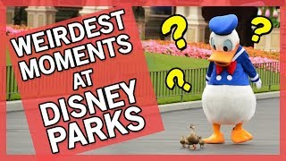 10 CRAZIEST Moments At Disney Parks!