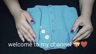 How to make newborn baby sweater 🤩❤️