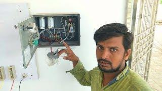 How to Instal Single Phase Submersible Pump Starter Wiring In Hindi & Urdu | MVT Skills