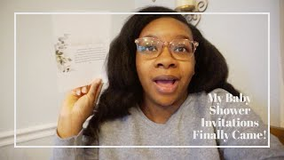 MY BABY SHOWER INVITATIONS CAME!⎪LOVE_TAUNYA VLOGS