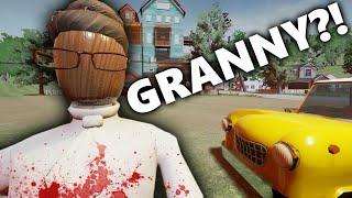 ЗЛАЯ БАБУЛЯ ИГРА - Angry Granny Neighbor (granny game)