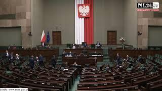 NA ŻYWO CAŁOŚĆ – Obrady Sejmu LIVE