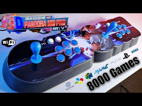 Pandora Box 18S Pro - WIFI - 8000 Games - Multi-player Arcade Game Console - Best Pandroa Arcade?