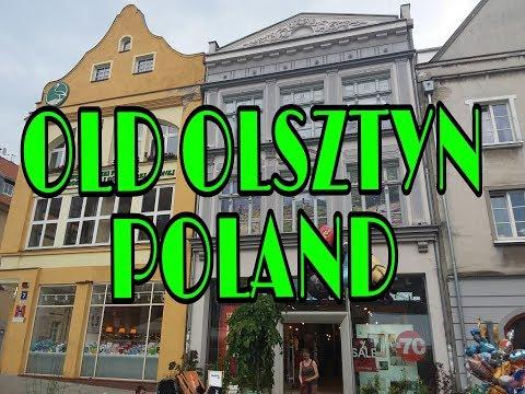 Польша.Какой уютный старый город!