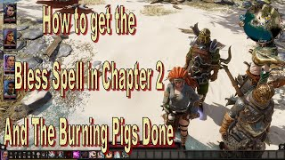 Divinity Original Sin 2 Definitive Edition Chapter 2 Bless Spell and The Burning Pigs
