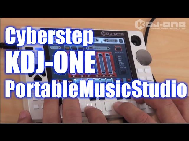 CyberStep KDJ-ONE Portable Music Studio Demo&Review [English Captions]