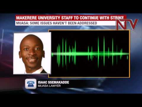 Makerere academic staff to proceed with industrial action