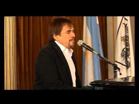 Alejandro Lerner video Personalidad destacada de la Cultura - 12 de Noviembre de 2012