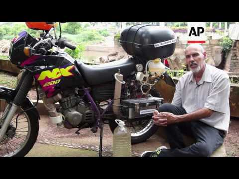Brazilian Inventor Builds Water-powered Motorcycle