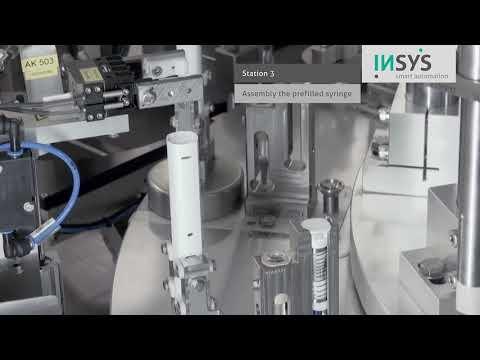 INSYS Einpressstation für Injektionsspritzen