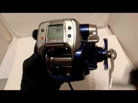 Daiwa Hyper Tanacom 600Fe Big-game Auto Jigging Electric reel Middle condition!