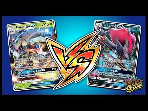 Zoroark GX / Golisopod GX Mirror Match – Pokemon Trading Card Game Online Gameplay video