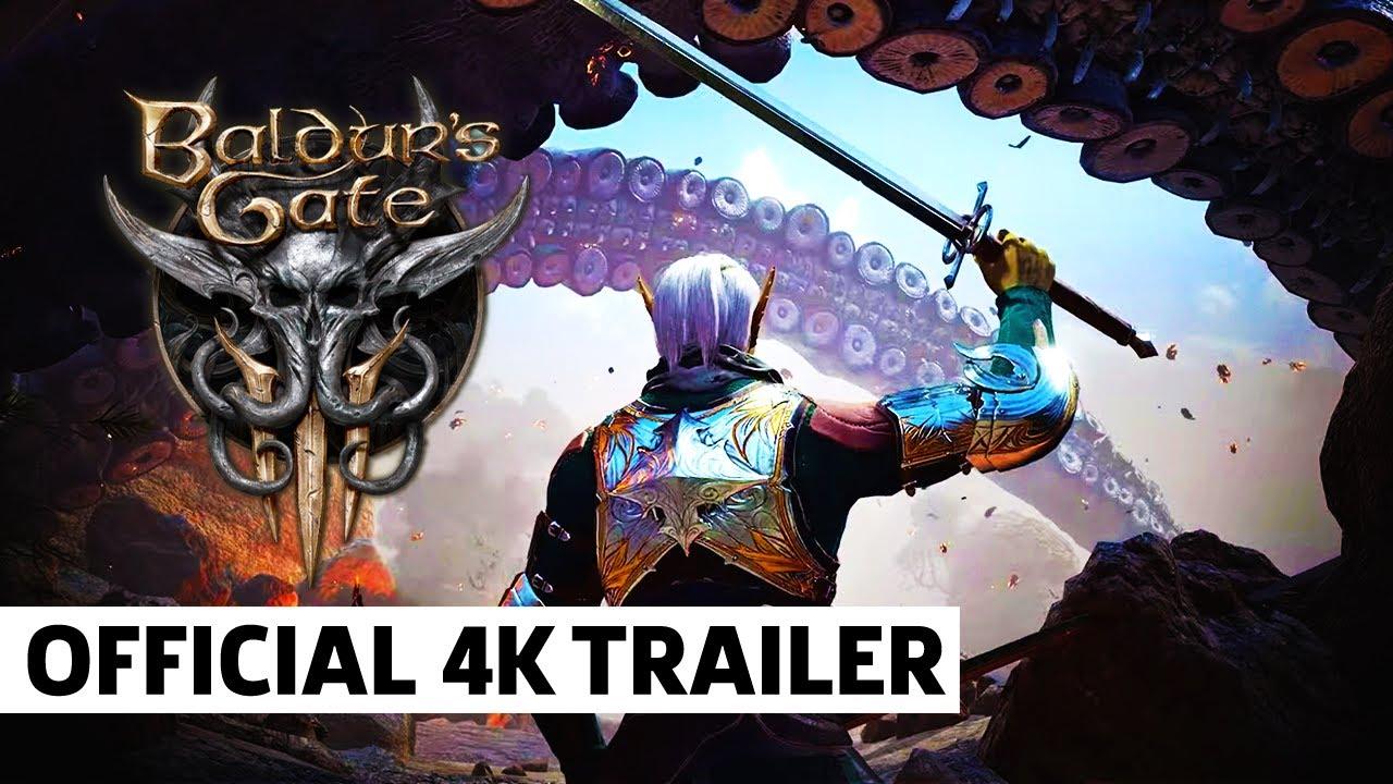 Трейлер игры Baldur's Gate 3