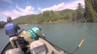 Fly Fishing Upper Kenai River Cooper Landing Alaska