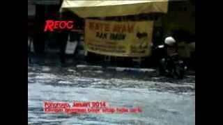 Kota Ponorogo Langganan Banjir - REOG.TV