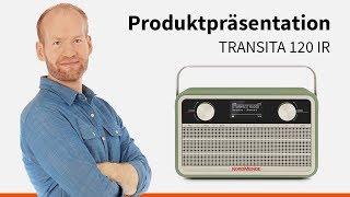 Transita 120 IR | Portables DAB+/UKW Digitalradio im Retrolook mit Internet. | Nordmende