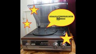 Plattenspieler unter 50 Euro im Test!!! :) Soundmaster PL186H