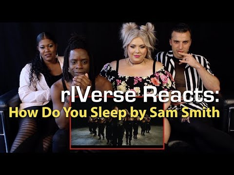 rIVerse Reacts: How Do You Sleep by Sam Smith - M/V Reaction