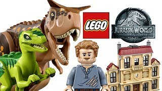 LEGO Jurassic World 2018 sets - My Thoughts!