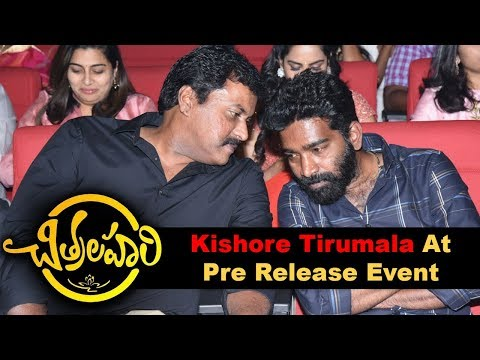 Kishore Tirumala at Chitralahari Movie Pre Release Event