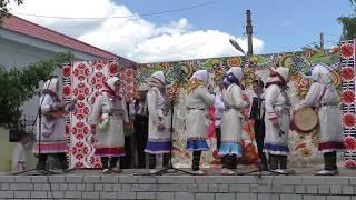 Пеледыш пайрем 2017- Медведево. Выступление ансамбля Кугезе  муро.