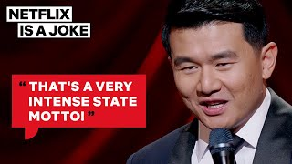 Ronny Chieng Is Baffled By Certain States' Mottos | Netflix Is A Joke