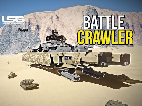 Space Engineers - Armadillo Battle Crawler