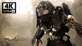 ALIENS VS PREDATOR All Cutscenes (Predator Edition) Game Movie 4k 60FPS