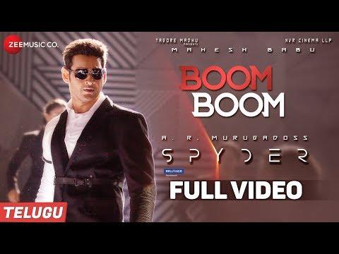 Download Boom Boom (Telugu) -FullVideo   Spyder  Mahesh Babu,Rakul Preet Singh  AR Murugadoss  Harris Jayaraj HD Mp4 3GP Video and MP3