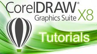 CorelDRAW X8 - Professional 2D Drawing & Filling [Pen Tool]*