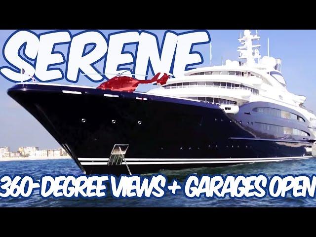 Serene Yacht - 360-Degree Views of Russian Super Yacht Serene