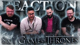 "Game of Thrones 8x1 REACTION!! ""Winterfell"""